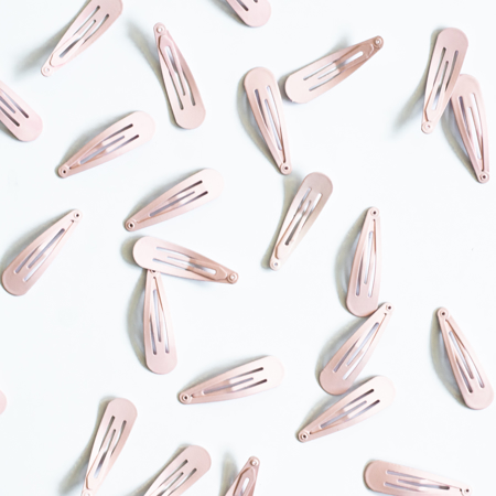 Picture of Hair Clips Nude 25 pcs.