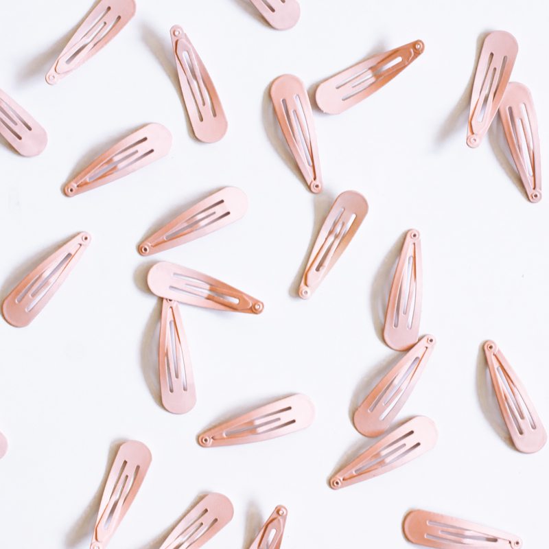 Picture of Hair Clips Pink 25 pcs.