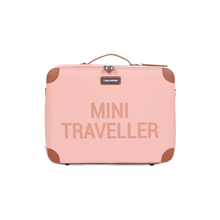 Picture of Childhome® Kids Suitcase Mini Traveller Pink Copper