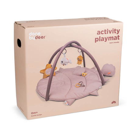 Picture of Done by Deer® Activity Play mat Sea friends Powder