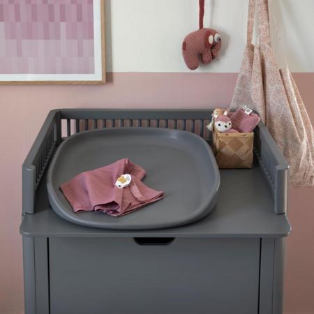 Picture of Sebra® Muslins 3 pcs Blossom Pink 75x75