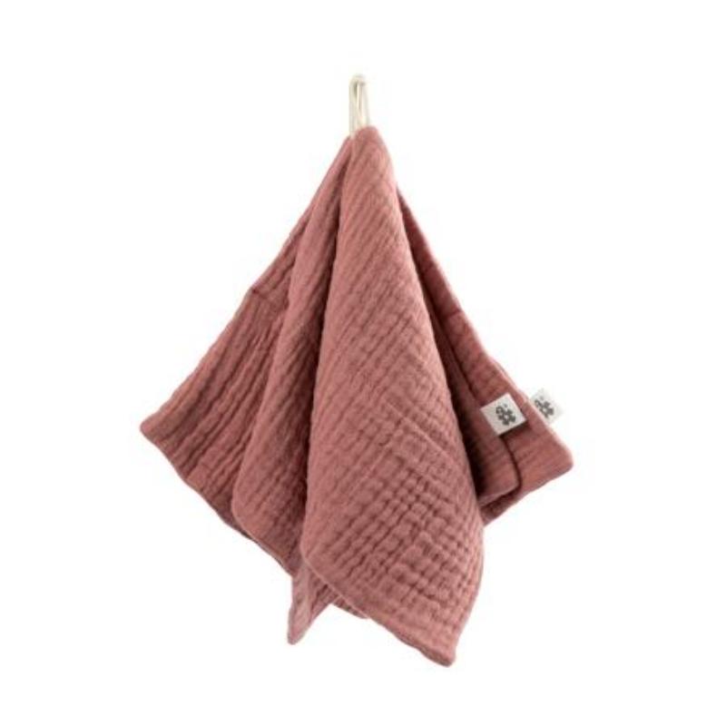 Picture of Sebra® Washcloth 3 pcs Blossom Pink  20x20