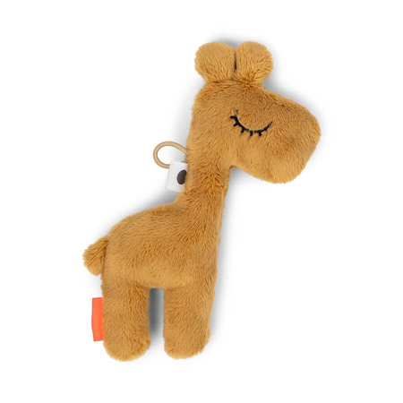 Picture of Done by Deer® Tiny sensory rattle Raffi Mustard