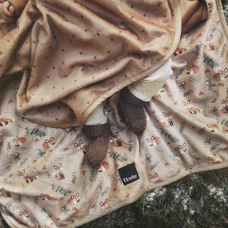 Picture of Elodie Details® Pearl Velvet Blanket Northern Star Terracotta 75x100