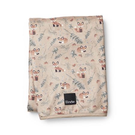 Picture of Elodie Details® Pearl Velvet Blanket Nordic Woodland 75x100