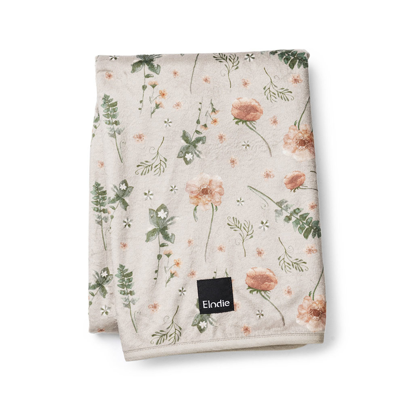 Picture of Elodie Details® Pearl Velvet Blanket Meadow Blossom 75x100