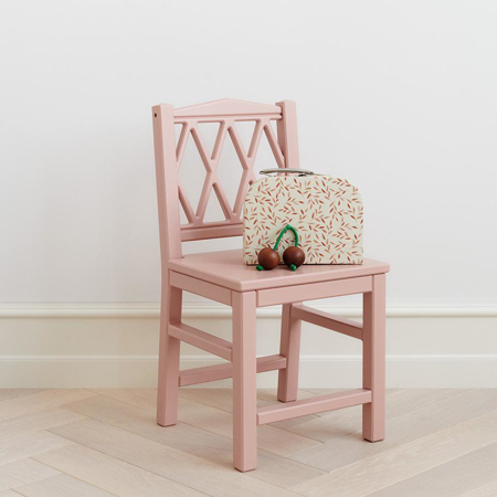 CamCam® Harlequin Kids Chair Dusty Rose