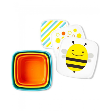 Picture of Pret® Set of snack boxes Bee