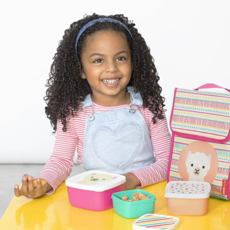 Picture of Skip Hop® Set of snack boxes  Lama