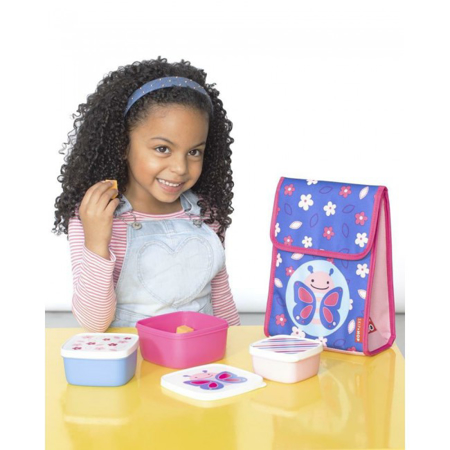 Picture of Pret® Set of snack boxes Butterfly