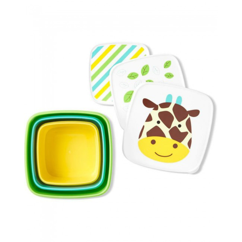 Picture of Pret® Set of snack boxes  Giraffe