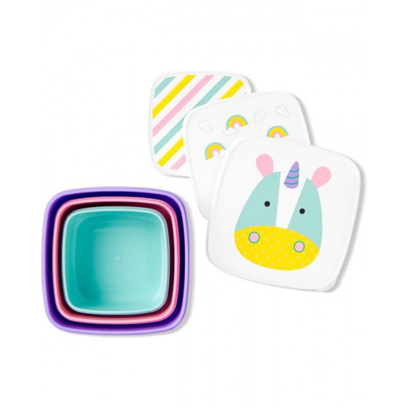 Picture of Skip Hop® Set of snack boxes Unicorn