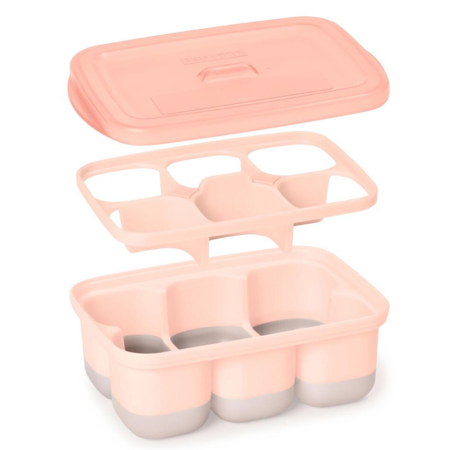 Picture of Skip Hop® Easy-Fill Freezer Trays-Grey/Coral