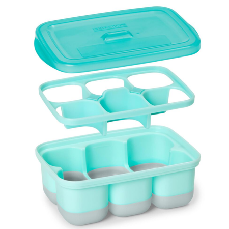 Picture of Skip Hop® Easy-Fill Freezer Trays-Grey/Teal