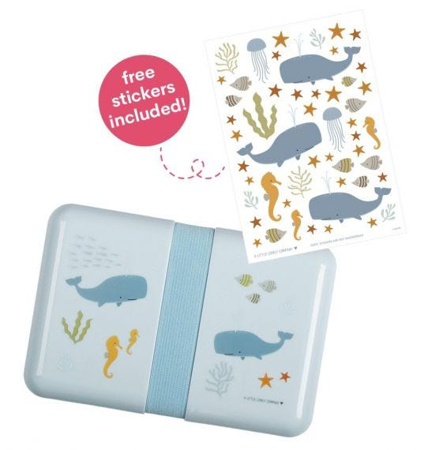 A Little Lovely Company® Lunch Box Ocean