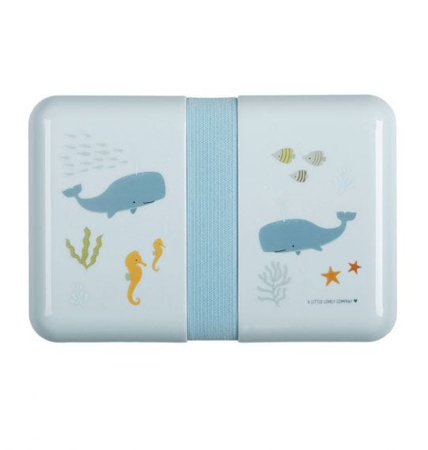 Picture of A Little Lovely Company® Lunch Box Ocean