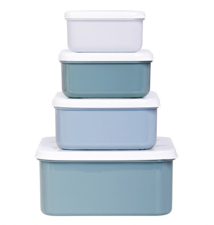 A Little Lovely Company® Lunch & snack box set Ocean