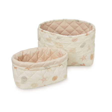 Picture of CamCam® Quilted Storage Baskets Seabed