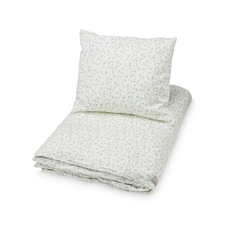 Picture of CamCam® Bedding Baby Danish - GOTS Green Leaves 70 x 100