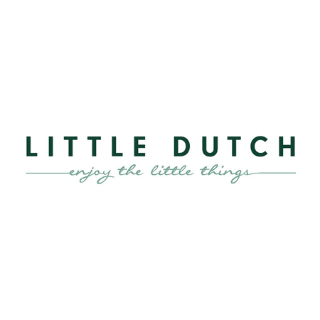 Picture of Little Dutch® Swaddles Wild Flowers Olive/Pure Olive 70x70