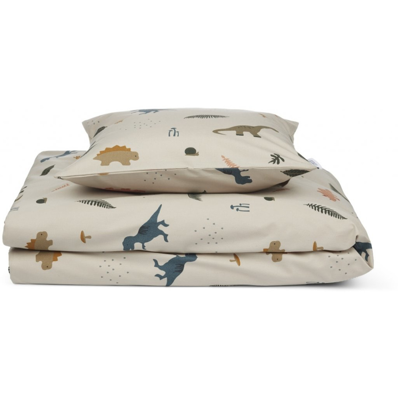 Picture of Liewood® Bed Linen Carl Adult Dino Mix 140x200
