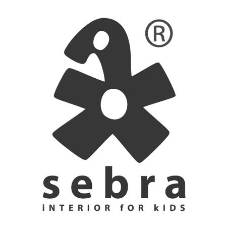 Picture of Sebra® Baby bumper Burgundy Red