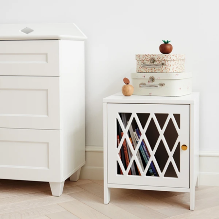 Camcam® Bedside Harlequin White