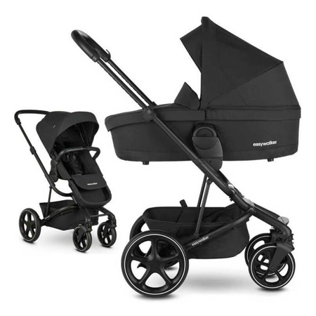 Easywalker® Stroller Harvey 3 Shadow Black