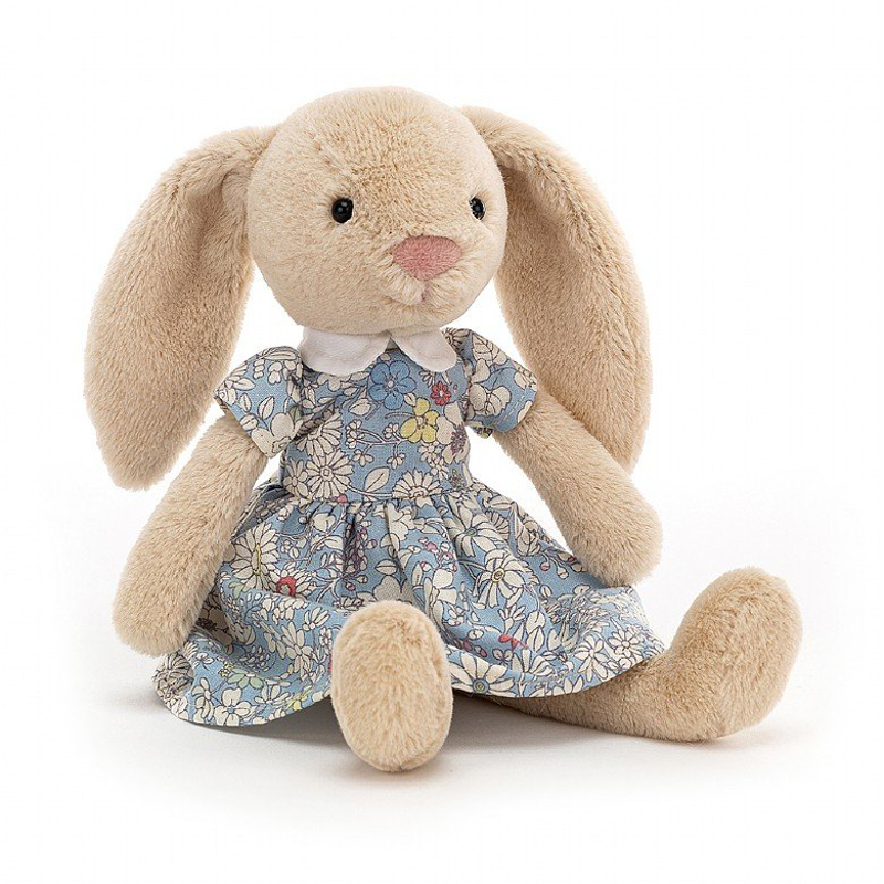 Picture of Jellycat® Soft Toy Floral Lottie Rabbit 27x10