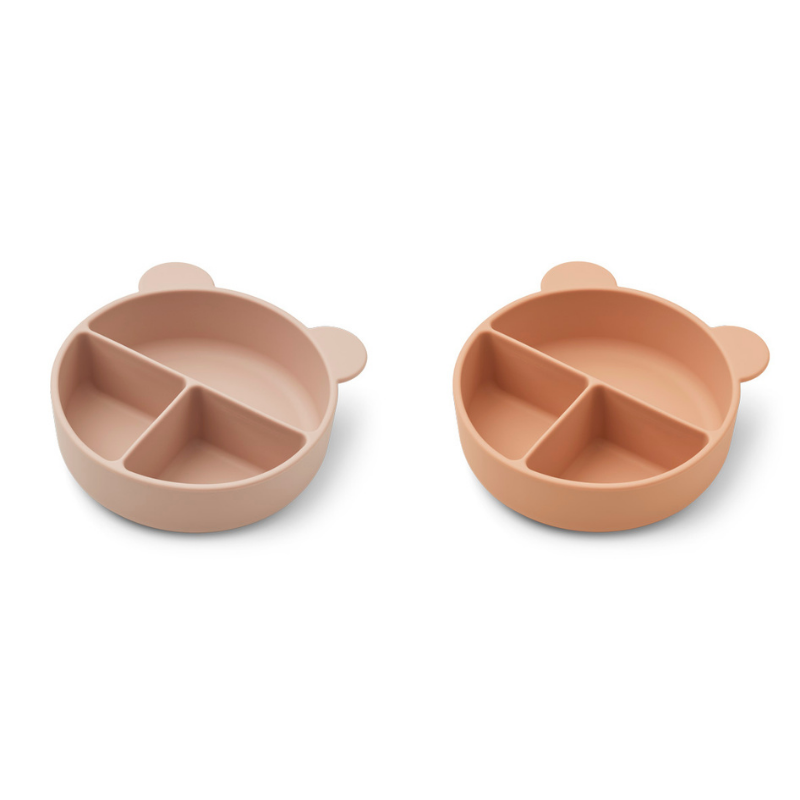 Picture of Liewood® Connie divider bowl 2-pack Golden Rose Mix