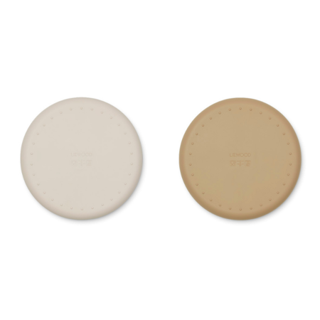 Picture of Liewood® Harvey divider plate 2-pack Sandy/Oat Mix