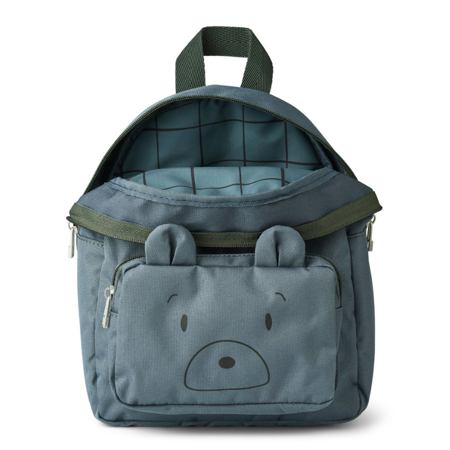 Picture of Liewood® Allan Backpack Mr Bear Whale Blue
