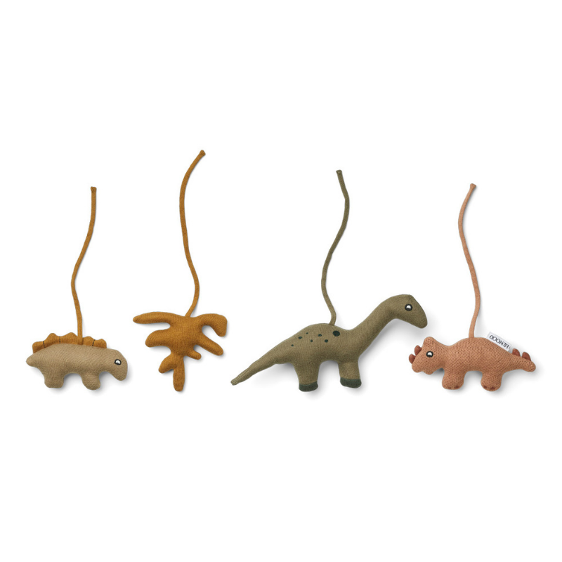 Picture of Liewood® Gio playgym accessories Dino Golden Caramel/Multi Mix
