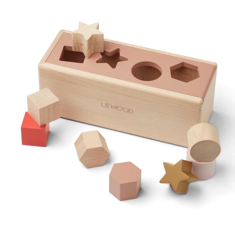 Picture of Liewood® Midas Puzzle Box Geometric Tuscany Rose Multi Mix