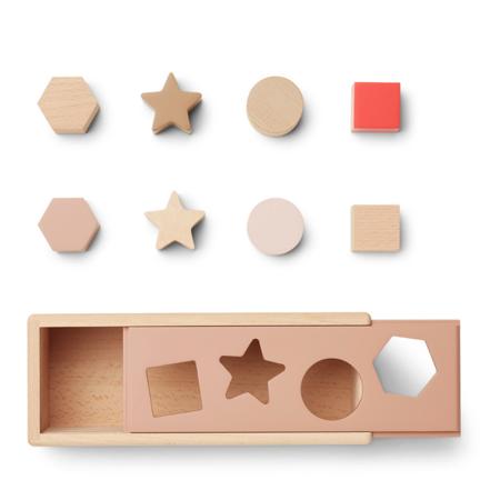 Liewood® Midas Puzzle Box Geometric Tuscany Rose Multi Mix