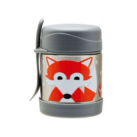 Picture of 3Sprouts® Stainless Steel Food Jar Fox