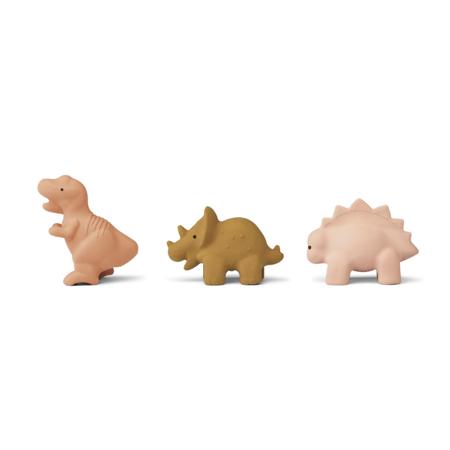 Liewood® David toys 3-pack Dino Rose Multi Mix