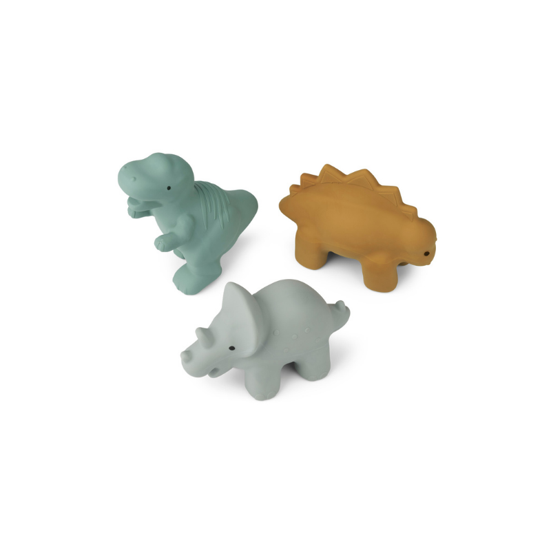 Picture of Liewood® David toys 3-pack Dino Blue multi Mix