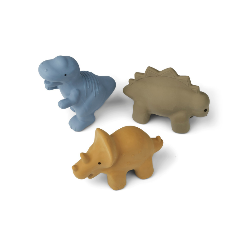 Picture of Liewood® David toys 3-pack David Dino Multi mix