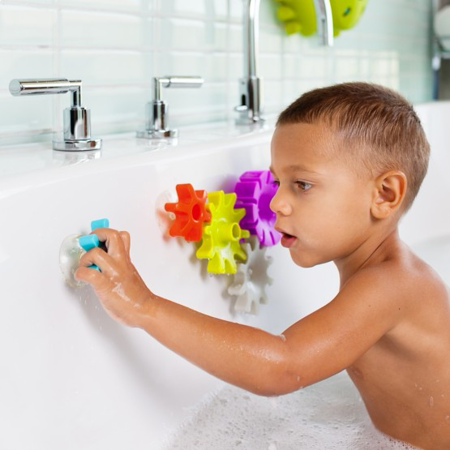 Boon® Building Bath Toy Set Cogs