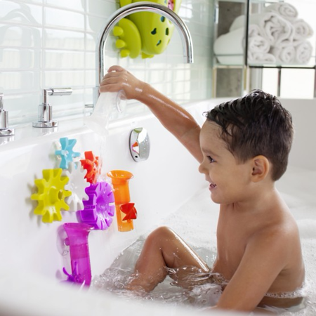 Picture of Boon® Building Bath Toy Set Cogs