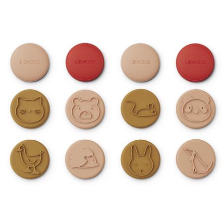 Liewood® Earl stamps 12 pcs Tuscany Rose Multi Mix