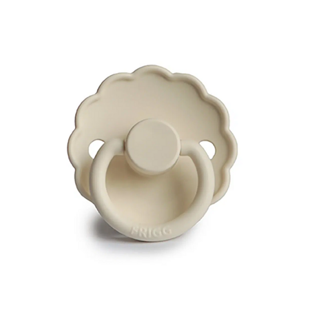 Picture of Frigg® Silicone Pacifier Daisy Cream (0-6m)