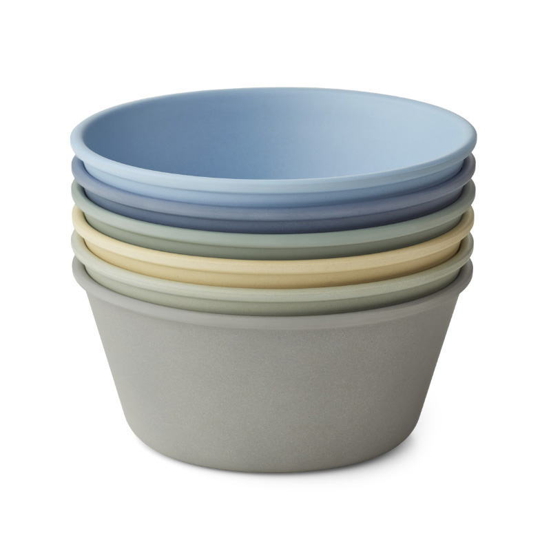 Picture of Liewood® Irene bowl 6-pack Peppermint Multi Mix