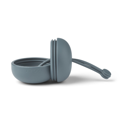 Picture of Liewood® Philip pacifier box Whale Blue
