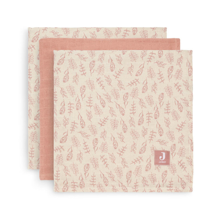 Picture of Jollein® Muslin multi cloth small 70x70cm Meadow Rosewood (3pack)