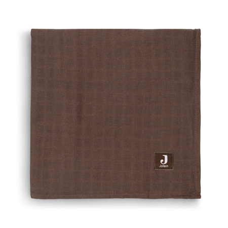 Picture of Jollein® Muslin multi cloth small 115x115 Meadow Chestnut (2pack)