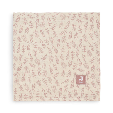 Picture of Jollein® Muslin multi cloth small 115x115 Meadow Rosewood (2pack)