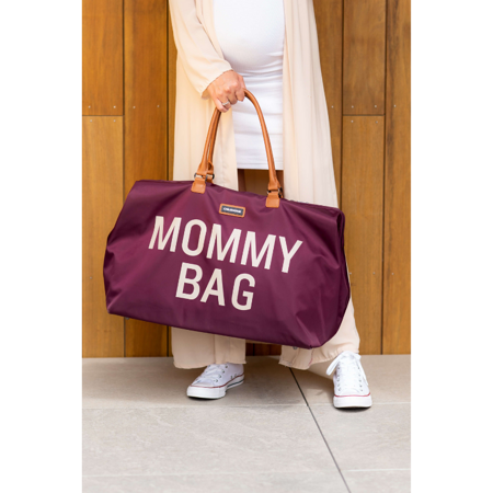 Picture of Childhome® Mommy Bag Aubergine