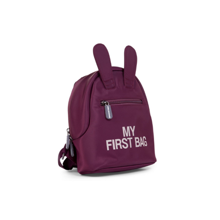 Childhome®  Children's Backpack My First Bag Aubergine